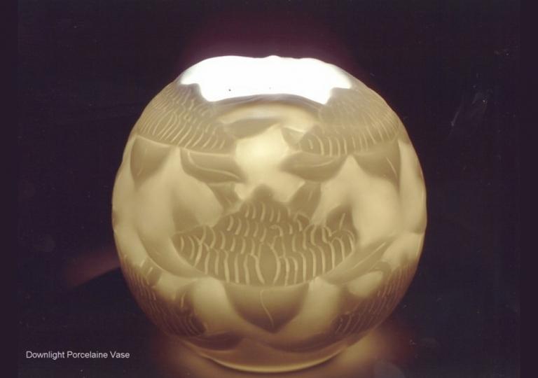 porcelain-waratah-vase